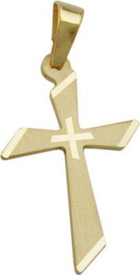 Anhänger Halskettenanhänger Kreuz 9Kt GOLD