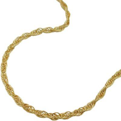 Kette, 45cm, Anker gedreht, 14Kt GOLD