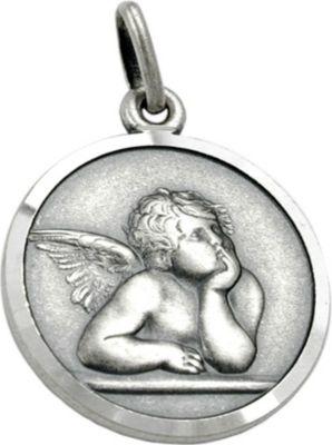 Anhänger Halskettenanhänger Engel antik Silber 925