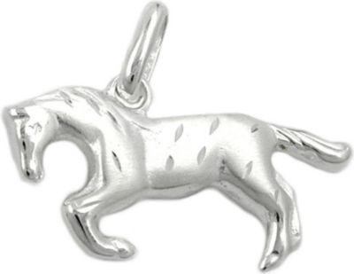 Precious Metal Without Stones Fine Jewelry Original 925er Echt Silber AnhÄnger SteigbÜgel Helm Gerte Mit Kette