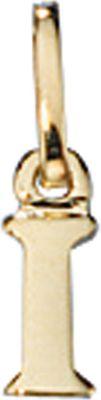 Anhänger Halskettenanhänger Buchstabe I 8Kt GOLD