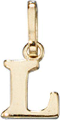 Anhänger Buchstabe L 333 Gold Gelbgold Buchstabenanhänger