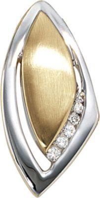 Jobo Anhänger Halskettenanhänger Brillanten 14Kt GOLD