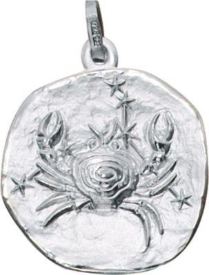 Jobo Anhänger Halskettenanhänger Krebs 925 Sterling Silber