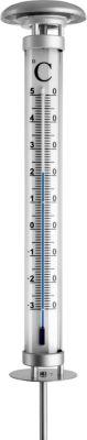TFA TFA Gartenthermometer mit Solarbeleuchtung wetterfest