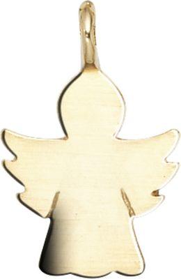 Anhänger Halskettenanhänger Schutzengel 14Kt GOLD
