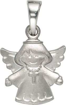 Anhänger Halskettenanhänger Schutzengel 925 Sterling Silber