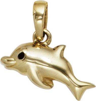 Anhänger Halskettenanhänger Delfin 8Kt GOLD