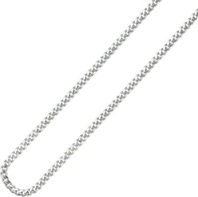 Panzerkette 925 Sterling Silber 4,6 mm 50 cm Halskette Kette Silberkette