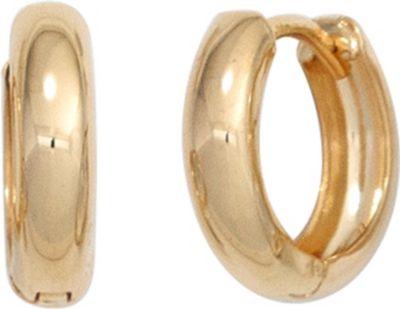 Creolen rund 333 Gold Gelbgold Ohrringe Goldohrringe Goldcreolen