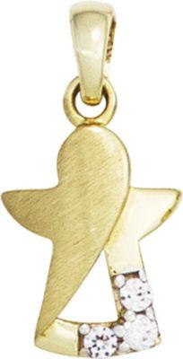 Anhänger Halskettenanhänger Schutzengel 8Kt GOLD