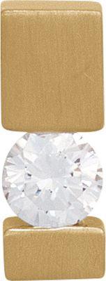 Jobo Anhänger Halskettenanhänger Brillant 14Kt GOLD