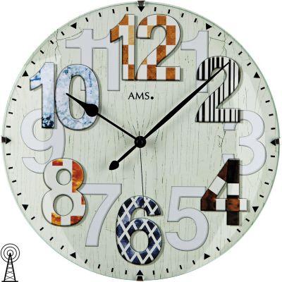 ams-ams-5951-wanduhr-funk-holzruckwand-mineralglas