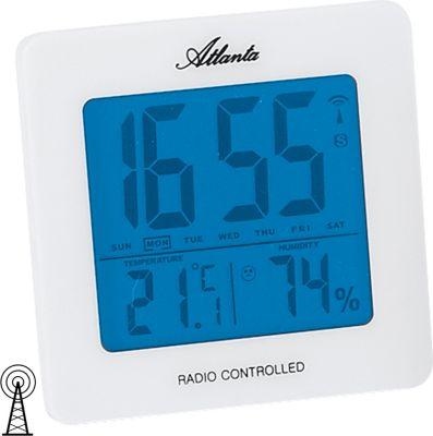 ATLANTA Atlanta Wecker Funk Weckwiederholung digitale Anzeige Temperaturanzeige