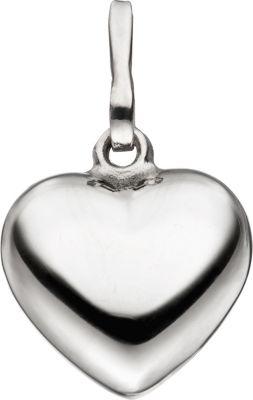 Anhänger Herz 925 Sterling Silber Herzanhänger Silberanhänger Silberherz