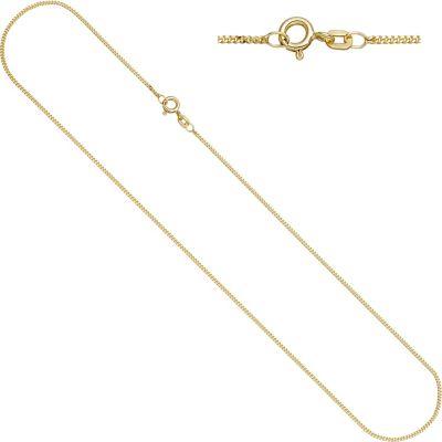 Jobo Panzerkette 925 Sterling Silber gold vergoldet 1,3 mm 50 cm Kette Halskette
