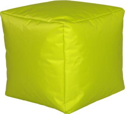 Cats Collection Sitzwürfel Nylon Limone groß | Wohnzimmer > Hocker & Poufs > Sitzwürfel | Nylon | Cats Collection