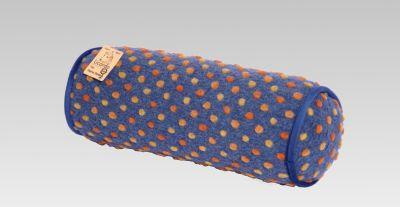 Cats Collection Nackenrolle 42 cm x 14 cm | Schlafzimmer > Kopfkissen | Blau | Cats Collection