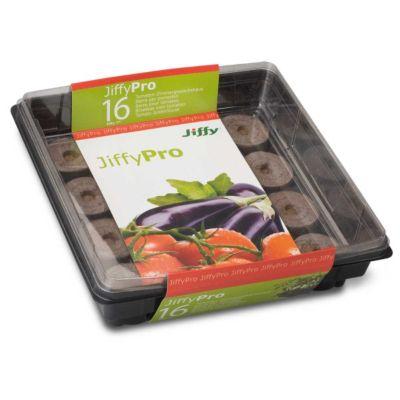garda Jiffy Tomaten-Treibhaus mit 16 Quelltöpfen