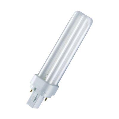 Osram Kompaktleuchtstofflampe DULUX D - G24d, 8...