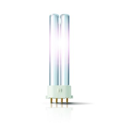 Philips Kompaktleuchtstofflampe MASTER PL-S 4P - 2G7, 840 Neutralweiß - 11W