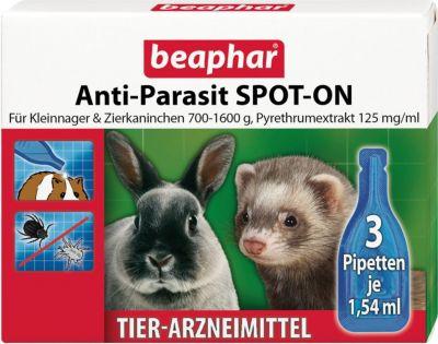 Beaphar - Anti-Parasit SPOT-ON für Kleinnager &...