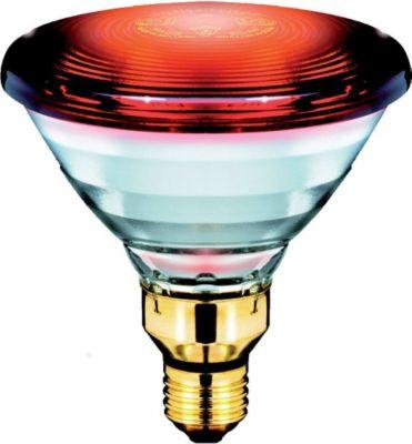 Infrarotstrahler Healthcare Heat - Rot, E27 - 150W