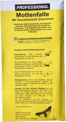 Detia - Lebensmittel-Mottenfalle, 2er Packung