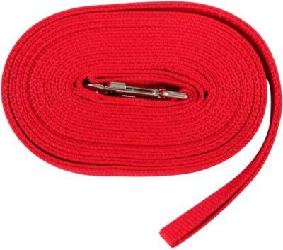Longe aus Kunststoff - rot