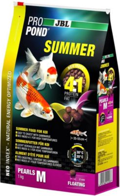 jbl-propond-summer-m-sommerfutter-fur-mittlere-koi-1-kg, 15.90 EUR @ plus-de