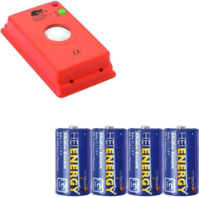 MARDERfix - Akustik Batterie - inklusive 4 Heit...