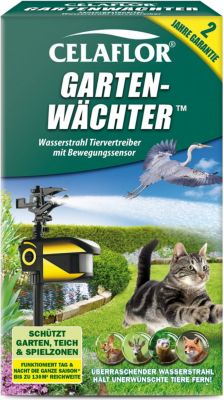 celaflor Celaflor Garten-Wächter, Wasserstrahl Tiervertreiber mit Bewegungssensor