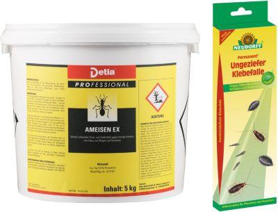 detia Detia - Ameisen-Ex Ameisenmittel - inklusive Ungeziefer Klebefalle