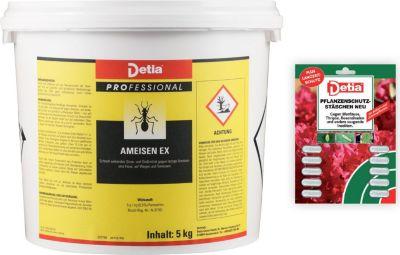 detia Detia - Ameisen-Ex Ameisenmittel 5kg - inklusive Pflanzenschutz-Stäbchen