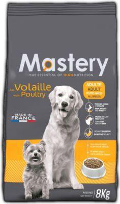 Mastery Hundefutter Adult Geflügel, Trockenfutt...