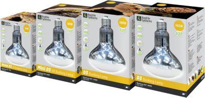 Reptile Systems - D3 UV Basking Lamp, E27 - 80W Mini - Preisvergleich