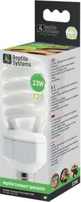 Reptile Systems - Reptile Lamp Specialist, E27 Kompaktlampe - 5% UVB, 23W - Preisvergleich
