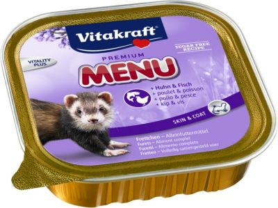 Vitakraft Premium Menü Nassfutter für Frettchen...