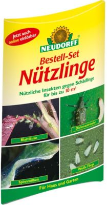 NEUDORFF - Bestell-Set Nützlinge gegen Schadinsekten