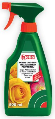Rosen- und Zierpflanzen-Spray Pilzfrei NEU 500 ml