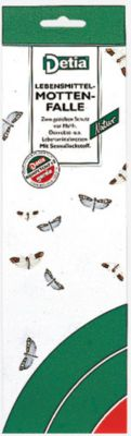 Lebensmittel-Mottenfalle, 3 Klebefallen