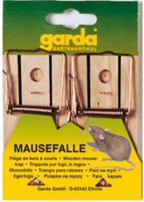 garda GARDA - Mausefalle aus Holz (2 Stück auf Karte)