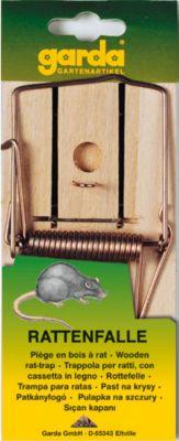 garda GARDA - Rattenfalle aus Holz (1 Stück auf Karte)