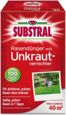 Rasen-Dünger mit Unkrautvernichter - 800 g
