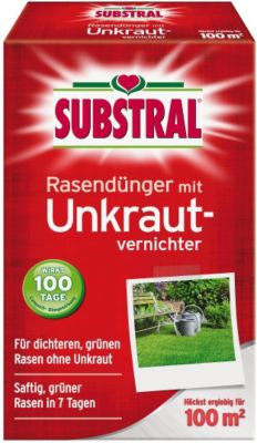Rasen-Dünger mit Unkrautvernichter - 2 kg