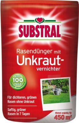 Rasen-Dünger mit Unkrautvernichter - 9 kg