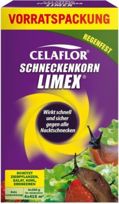 Celaflor Schneckenkorn Limex - 4 x 250 g