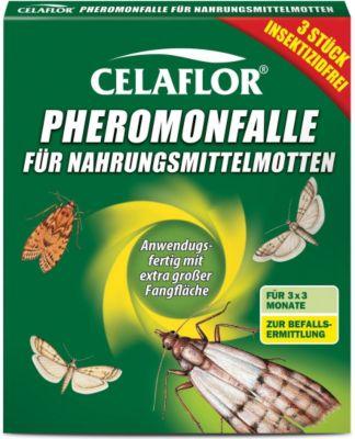 celaflor Celaflor Pheromon-Falle für Nahrungsmittelmotten - 3 Stück