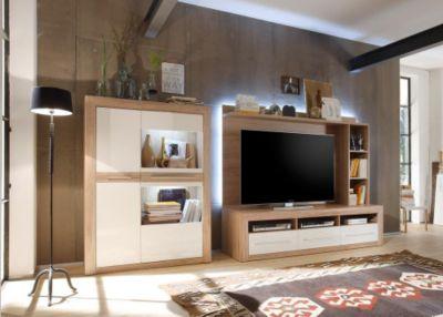 wohnwand m bel billig kaufen. Black Bedroom Furniture Sets. Home Design Ideas