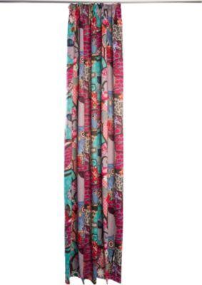 Vorhang Melli Dimout, mit Gleitern - 140 x 245 cm, Pink